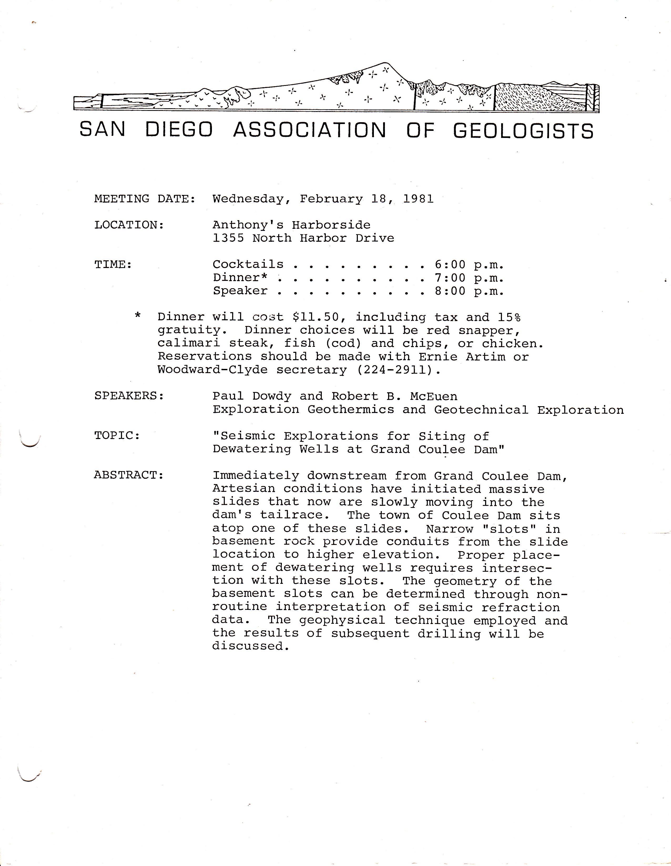 SDAG Newsletter Archive
